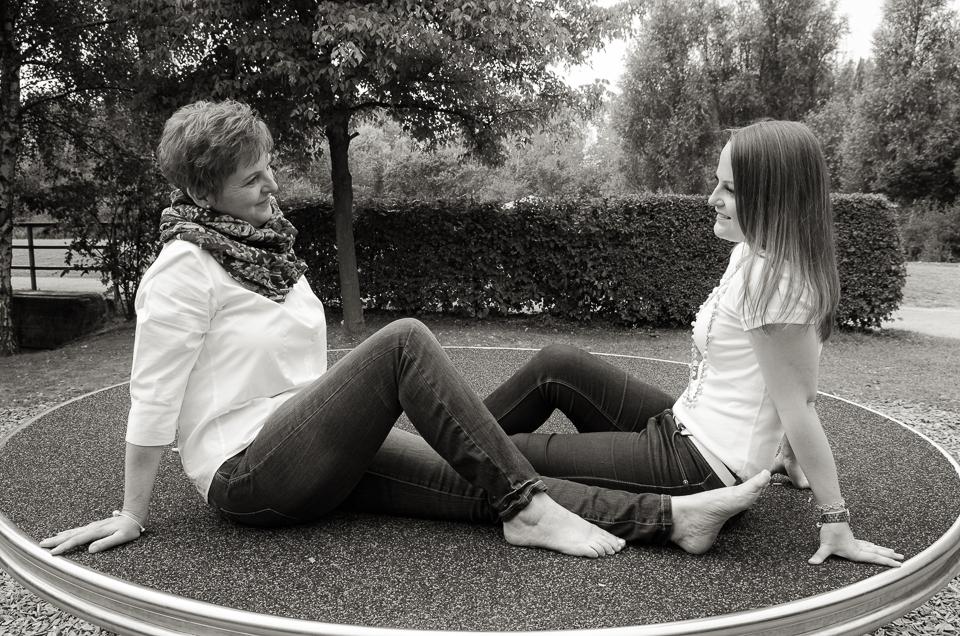 Sabine und Madeleine