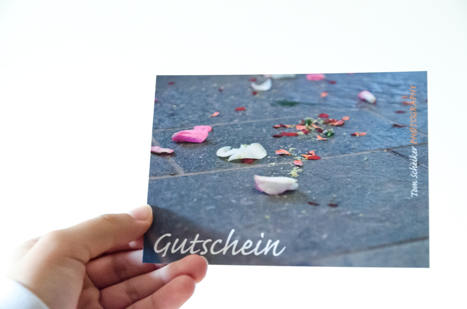 Gutschein Tom Scheiker Photography
