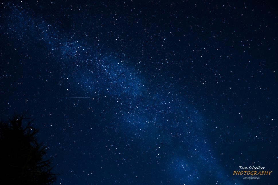Nachthimmel an der Lübecker Bucht